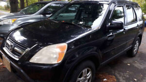 2003 Honda CR-V Black