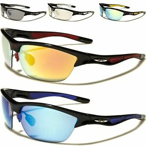 33900e89418 Image is loading Designer-Sports-Big-Wrap-Xloop-Sunglasses-Black-Cycling-