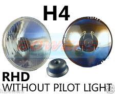 "5.75"" 5 3/4"" CLASSIC CAR HEADLAMP HEADLIGHT HALOGEN H4 WITHOUT PILOT/SIDE LIGHT"