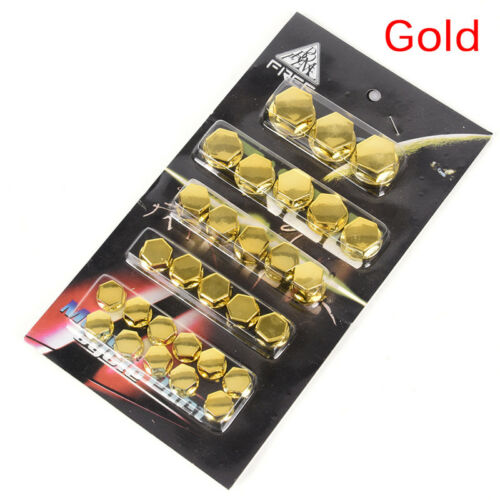 30Pc Motorcycle Screw Nut Bolt Cap Covers Decorations Centro Motorbike Ornament/&