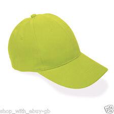 ed2f2acf5e9 Baseball Cap 6 Panel Cotton Unisex Peak Hat Adjustable Outdoor Rain Summer  Sun