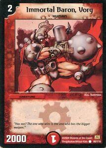 Duel-Masters-Karte-Immortal-Baron-Vorg
