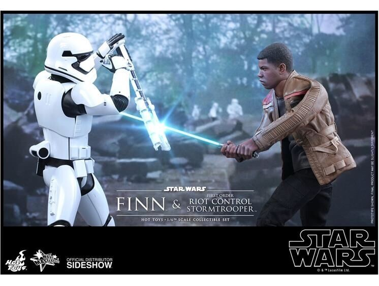 Hot toys riot trooper and finn