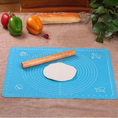 Silicone Rolling Cut Mat Fondant Clay Pastry Icing Dough Cake Tool Sugarcraft