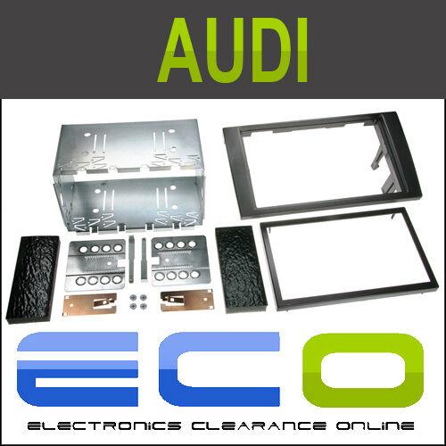 T1 Audio t1-23au01a Audi A4 2002 /& Gt Doble DIN Facia Fascia envolvente Kit de montaje