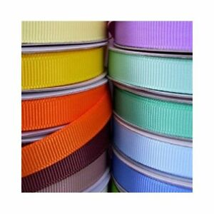 25 yds 7//8 in grosgrain ribbon 1 yd  25 colors Lot all solid  Lot  d