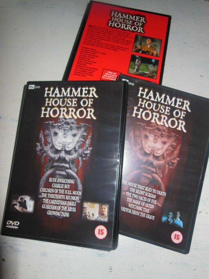 Hammer House of Horro Boks (4 disc), DVD, gyser