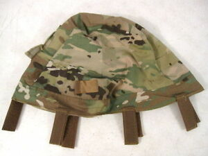 US Army OCP Scorpion Camouflage ACH or MICH Helmet Cover - Large X ... c3a79a2b3