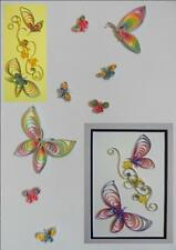 Butterflies for Cards & Wall Art Quilling Kit
