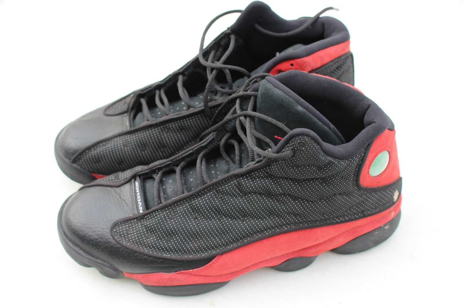 0d8df63bf74 NIKE AIR JORDAN XIII 13 RETRO BRED PLAYOFF TRUE RED-WHITE 12 BLACK 414571- 004 niuudd6057-Athletic Shoes