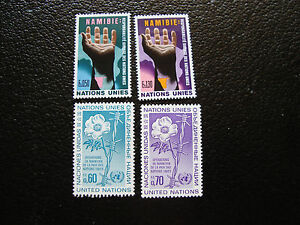 United-Nations-Geneve-Stamp-yt-N-52-53-54-55-N-A14-United-Nations