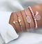 New-Fashion-Women-Boho-Gold-Silver-Bracelets-Rhinestone-Bangle-Cuff-Jewelry-Set thumbnail 16