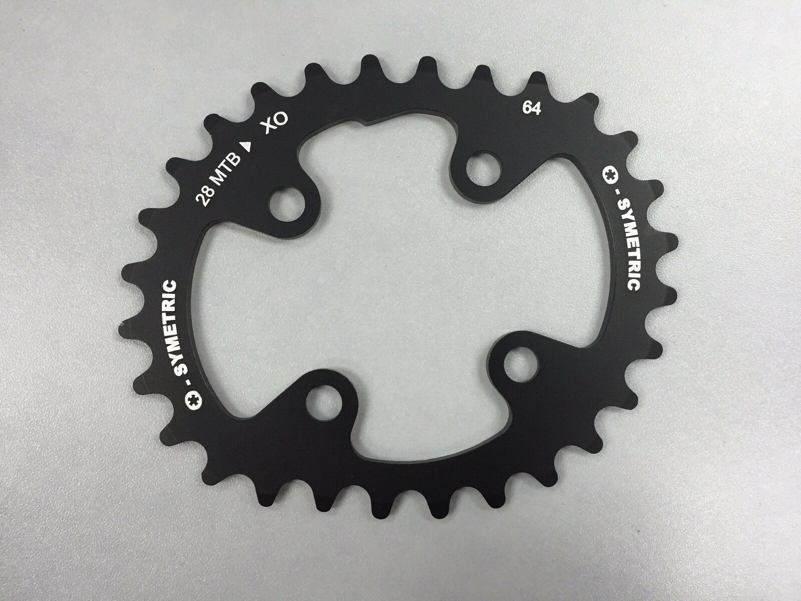 Osymetric SRAMX0 28T (BCD 64mm x 4 Bolts) Bicycle MTB ChainRing