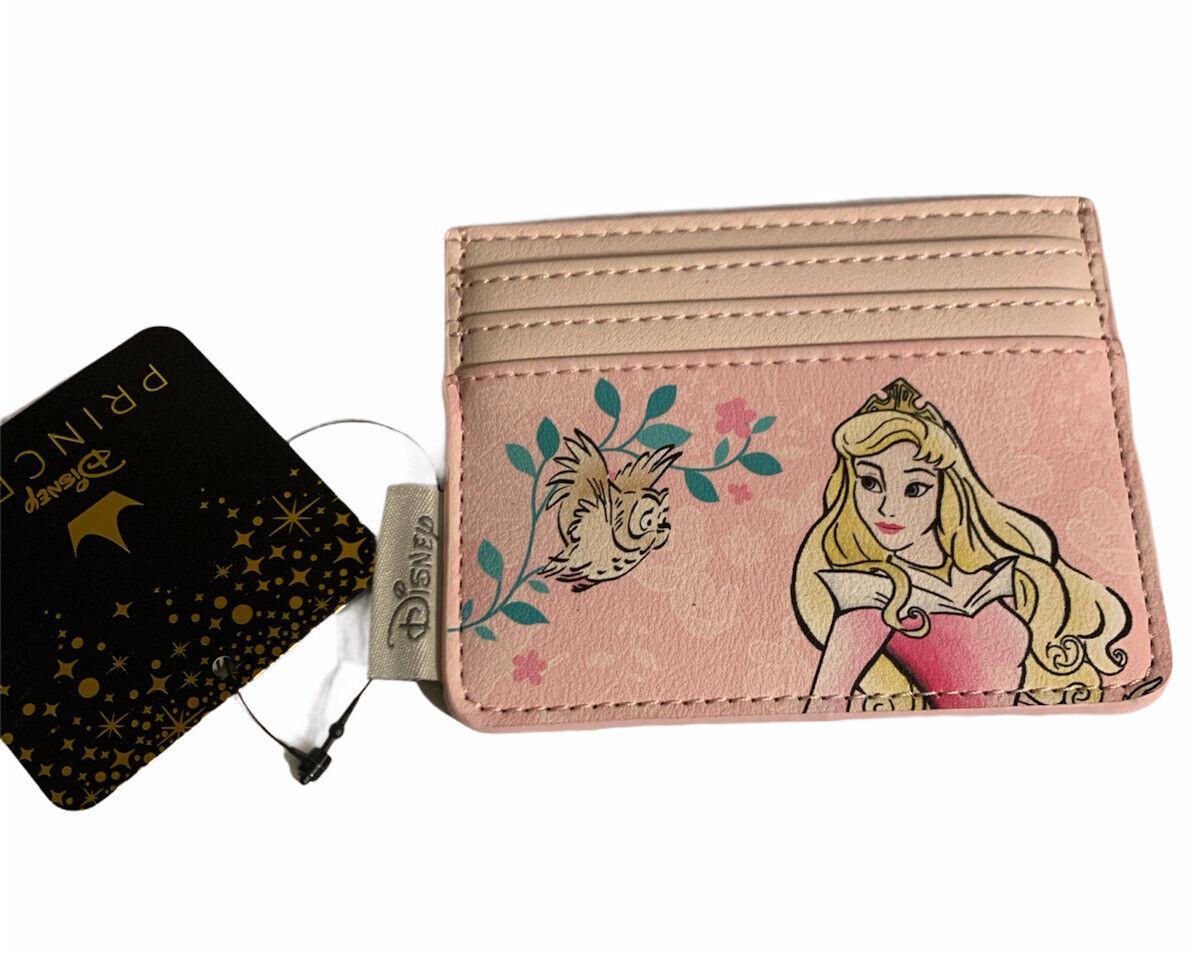 Loungefly Disney AURORA Credit Card Holder Cardholder NEW Wallet Sleeping Beauty