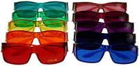 Medium Fits Over Color Therapy Glasses Sunglasses Prescription Set Of 7, 9, 10