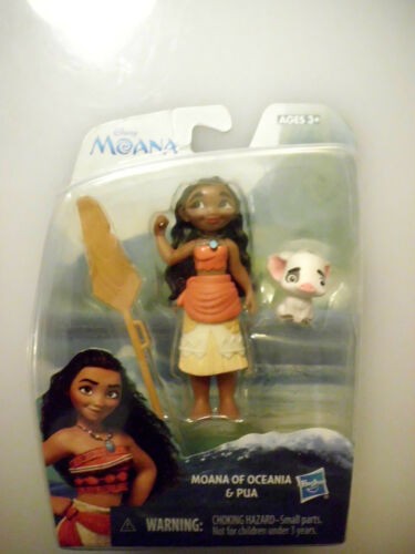"Disney MOANA OF OCEANIA AND PUA 2/"" Action Figure NIB"