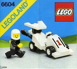 Lego Town Formula 1 Racer 6604 Vintage 5702010966042 Ebay