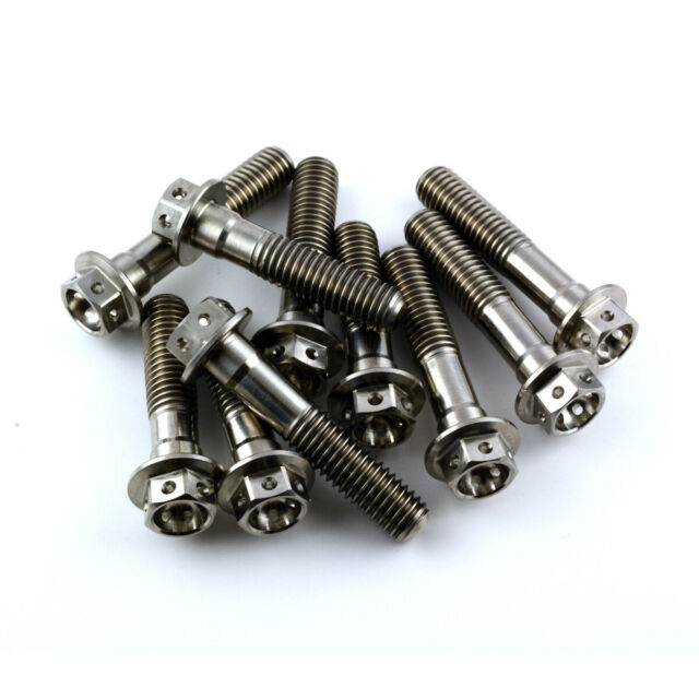 Yamaha TRX850 96-00 Stainless Steel Hex Front Caliper Mounting Bolts