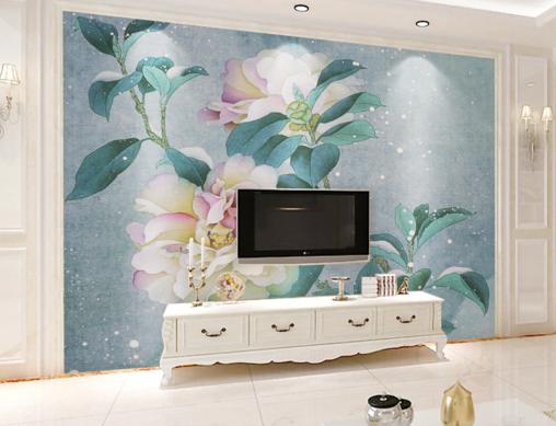 3D Snowflake Flowers 9 Wall Paper Murals Wall Print Wall Wallpaper Mural AU Kyra