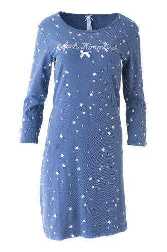 "XS-L NUOVO Louis /& sig RA Louisa /""celestiali/"" Camicia da notte stelle blu tg"
