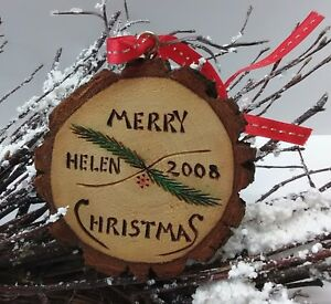 Helen Georgia Christmas.Details About Helen Georgia Christmas Ornament Hand Carved Wood Tree 3 75 Holiday 2008 Wooden