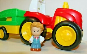 Little-People-Tow-n-Pull-Tractor-Fisher-Price-Sounds-Music