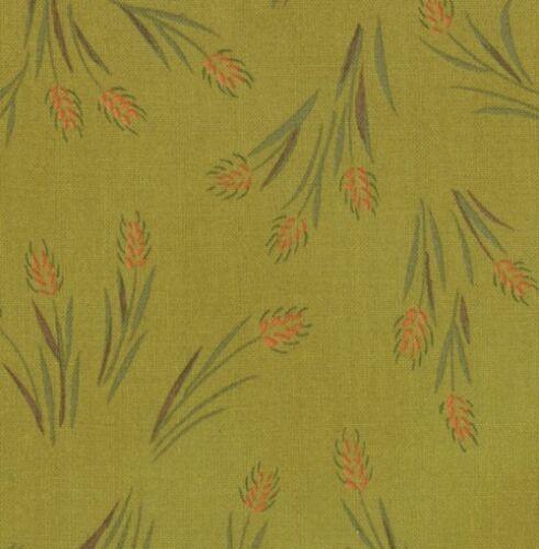 Moda Fabric ~ Farmyard ~Sentimental Studios~ 1 yard~Green 32552 13~100/% Cotton