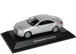 1:43 Mercedes Cls C218 Argent Iridium Argent Argent - Dealer-edition Oem Norev Remises Vente