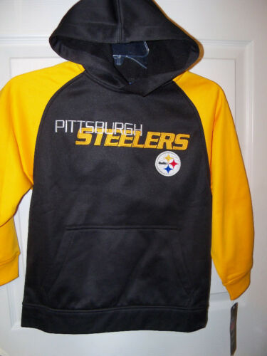 REEBOK Pittsburgh Steelers  Hoodie Boys Youth Size 4 NWT  #28
