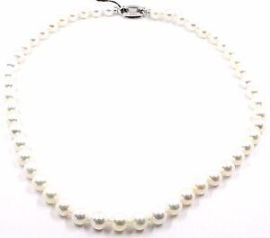 Halskette-weissgold-18K-Perlen-8-8-5-MM-weiss-Suesswasser-hoch-Qualitaet