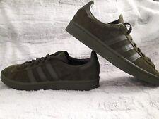 reputable site 33ef6 80277 Adidas Originals Mens Campus Night Cargo Olive Green Suede SneakerShoes  Sz8 NEW