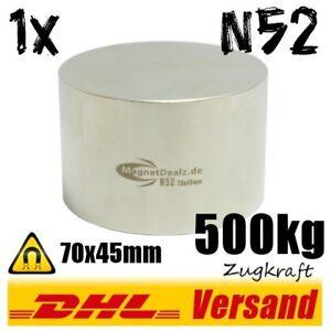 Neodym-Magnet-70x45mm-500kg-N52-sehr-starker-power-Industriemagnet-Dauermagnet