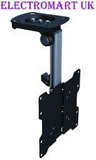 "LCD TV TELEVISION CEILING OR UNDER CABINET FLIP DOWN BRACKET BLACK 17"" - 37"""
