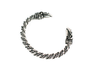 Image Is Loading Viking Odin 039 S Raven Head Pewter Bracelet