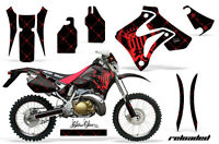 Amr Racing Honda Crm 250ar Graphic Decals Number Plate Kit Mx Bike Stickers Sr R