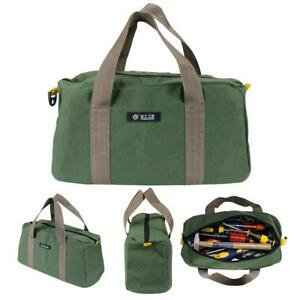 Details About Portable Multi Function Canvas Waterproof Zip Storage Hand Tool Bags Organizer