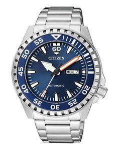 Citizen-Herrenuhr-Automatik-NH8389-88LE-Armbanduhr