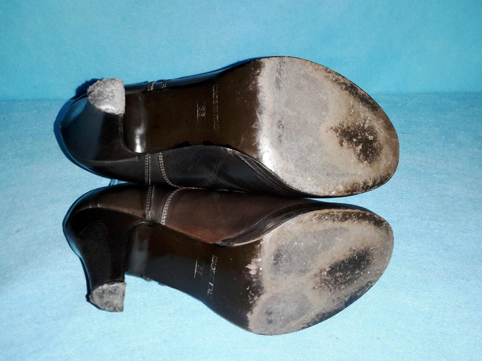 Derby Stiefel LIU JO en cuir tres  p 36 fr tres cuir bon etat 0945b4