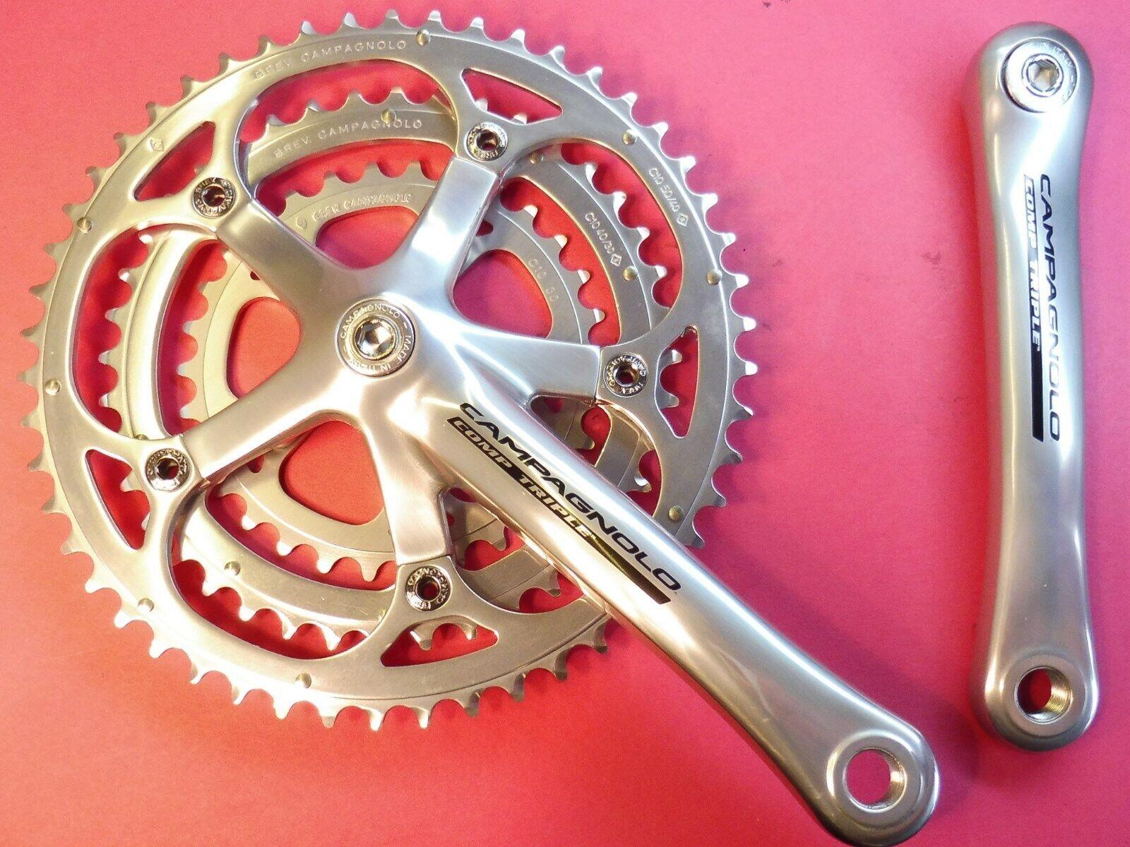 Campagnolo Comp. Triple 10-speed Pédalier 170mm - 30.40.50   Bicyclette Cache