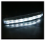2pcs-Motorcycle-Car-100-lm-8-LED-Daytime-Running-Lights thumbnail 2