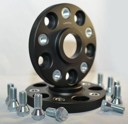 2 X 20 Mm bimecc hubcentric Separadores Con Pernos Para caber Porsche Cayenne