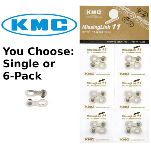 KMC MissingLink 11 Speed Non-Reuseable Master Bike Chain Link Connector Links