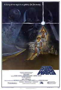 NEW-Star-Wars-1977-Style-A-27x40-034-Original-One-Sheet-Sci-fi-Movie-Poster-Reprint