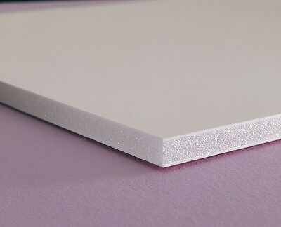 "High Density Polyethylene HDPE Plastic Sheet 1/"" x 5/"" x 12"" Natural White"