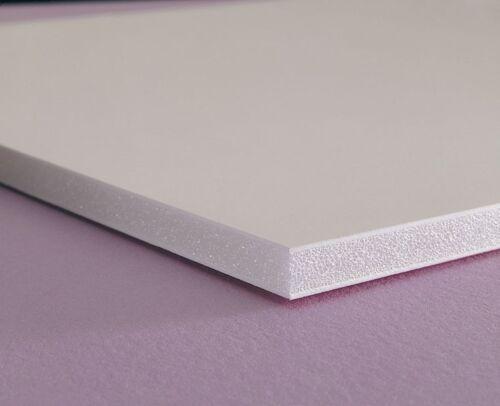 "PVC FOAM BOARD PLASTIC SHEETS 1//4/"" X 12/"" X 24/"" VACUUM FORMING WHITE E"