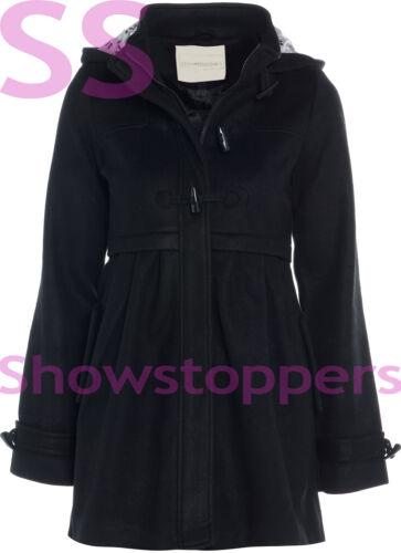 WOOL TYPE NEW AGE 7 8 9 10 11 12 13 GIRLS JACKET COAT HOODED Lined Girl CLOTHING