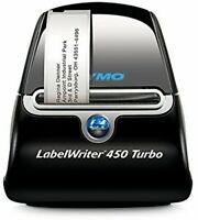 Turbo Thermal Label Printer Barcode Name Badge Graphics Office Electronics