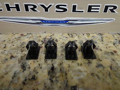05-11 Chrysler 300 Dodge Charger New Rocker Panel Clip Black Set of 4 Mopar Oem