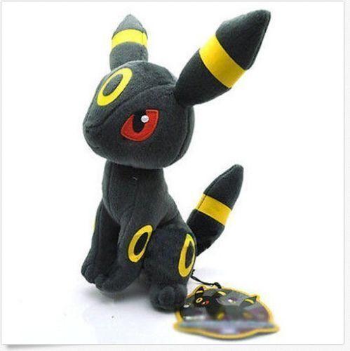 "UMBREON Pokemon Rare Soft Plush Toy Doll Kid Baby Gift 7.5"" / 19cm"