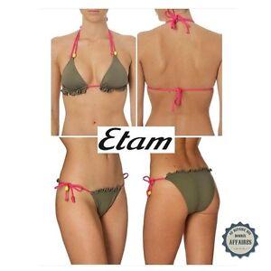 Bikini// shorty// brief tanga bottoms only Etam Lux esp swimwear beach mix /& match